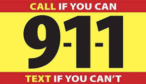 911 text