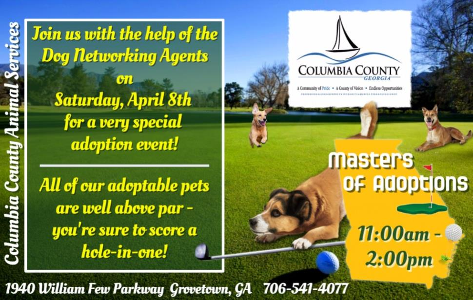 Masters Week Adoption Event 3