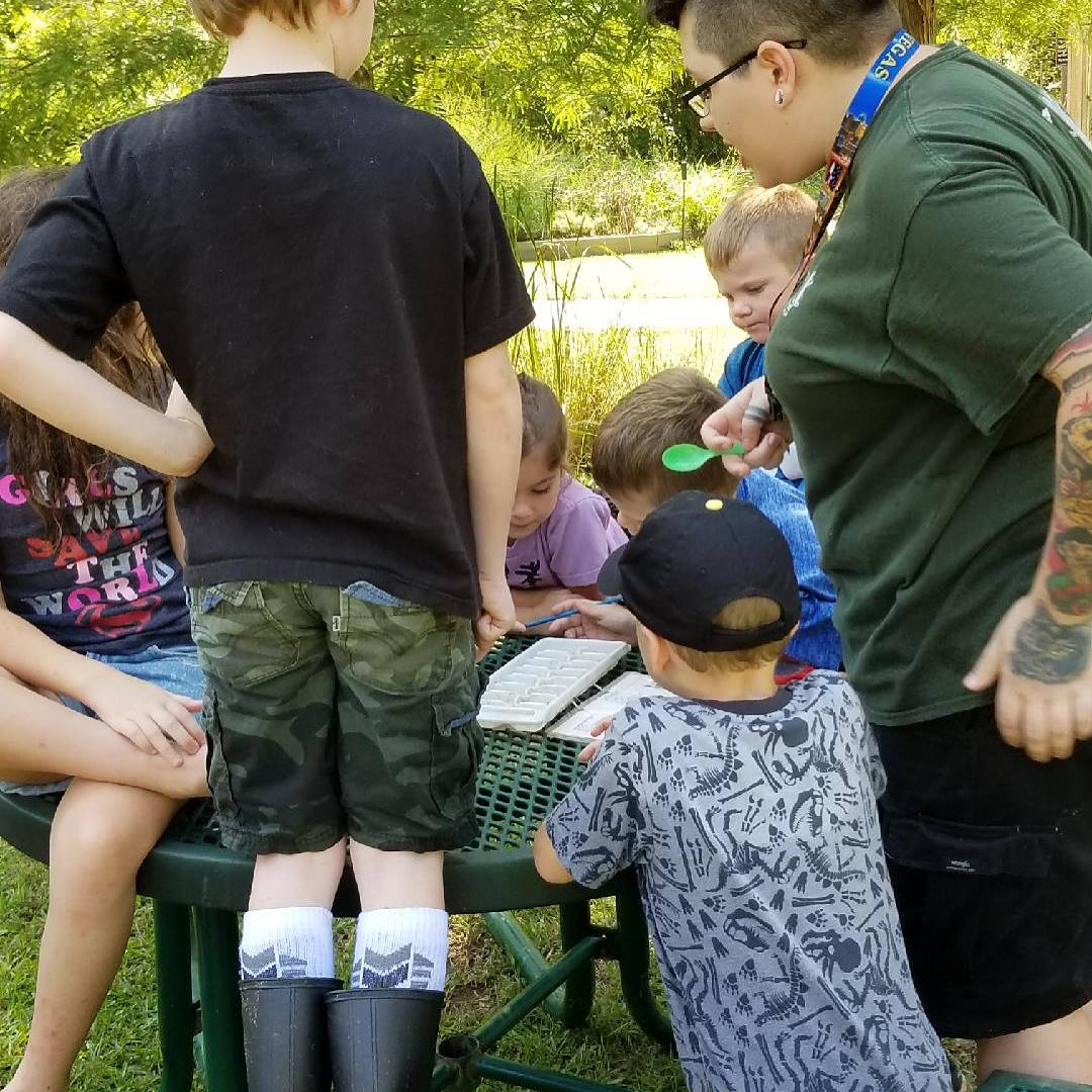 hands-on education at reed creek park