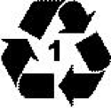 recycle 1 symbol