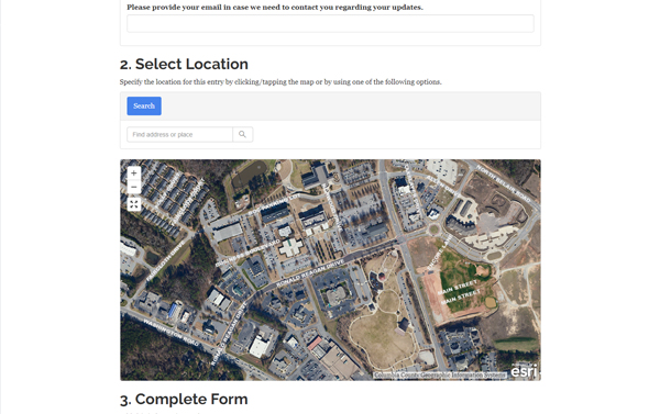 address verification web app screenshot