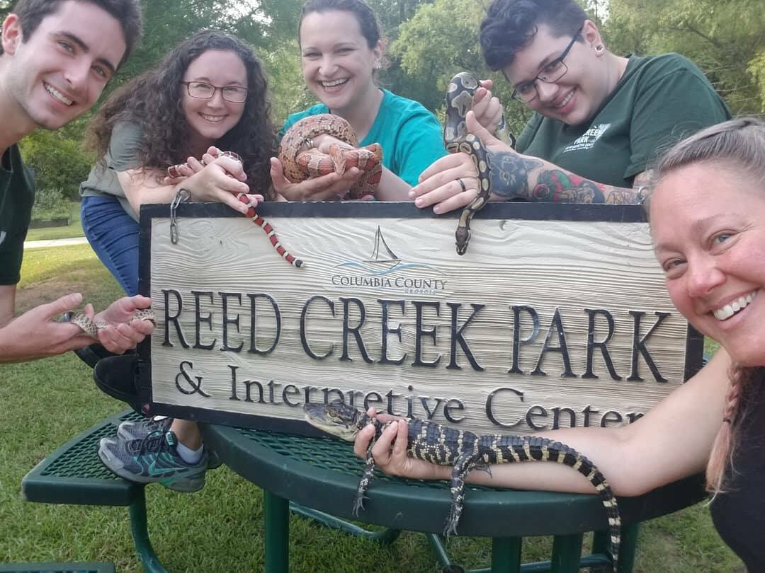reed creek staff and friends