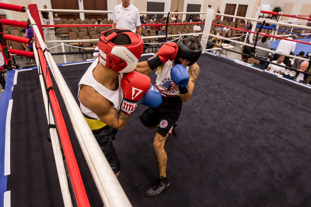 boxing at the ccec