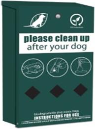 Dog litter sign