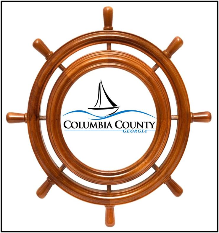 Navigation Wheel with County Logo